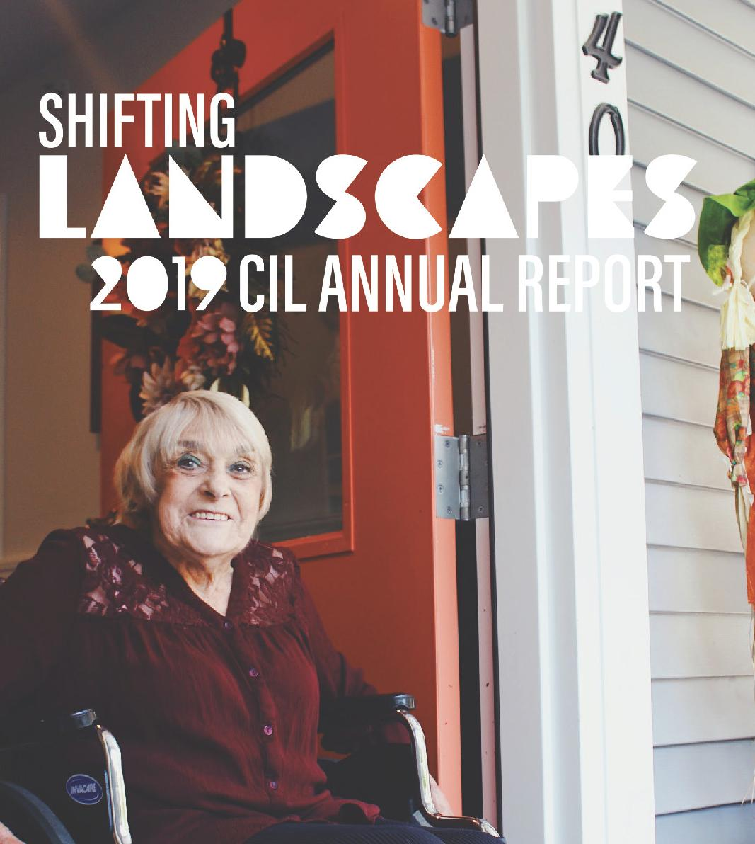 front cover of the 2019 Annual Report